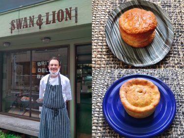 市ヶ谷でイギリスの香りを感じて。パイとスコーン自慢のベーカリー「SWAN&LION」