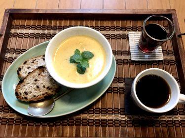 夏不調をやさしくケア。ミキサー不要でラクうま「バターナッツかぼちゃの豆乳スープ」レシピ