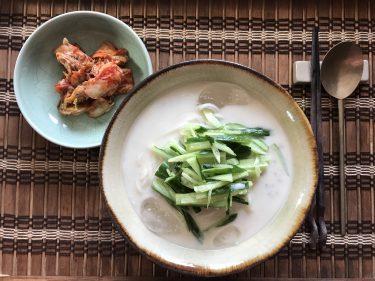 つるっと食べたい!韓国の冷製豆乳スープ麺「コングクス」レシピ